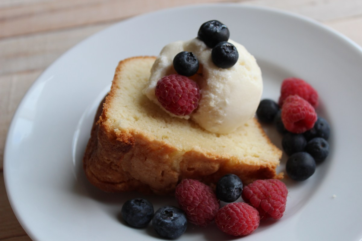 Mom's Southwest Georgia Pound Cake